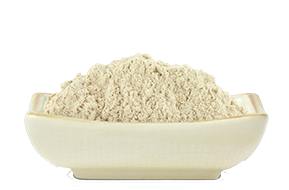 Organic brown rice protein powder